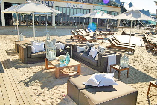 Relax at Shimmy's Cape Town. Photo by Shimmy Beach Club