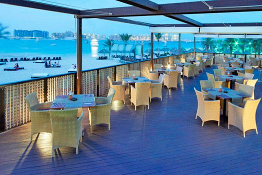 Grab a bite to eat at Barasti, Dubai. Photo by Le Méridien