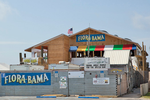 The Flora-Bama, Florida. Photo by the Flora-Bama