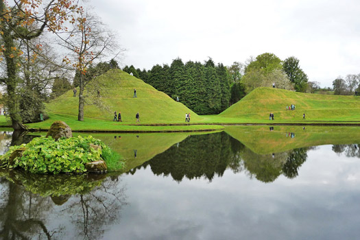 The Garden of Cosmic Speculation, Scotland. Photo by John Lord