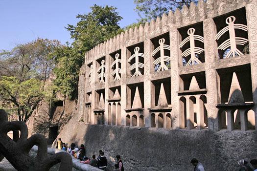Rock Garden of Chandigarh, India. Photo by Lian Chang