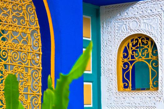 Jardin Majorelle, Marrakech, Morocco. Photo by Khalid Albaih