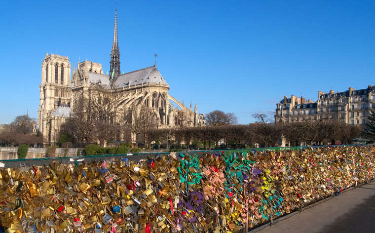 Love locks – where to see them