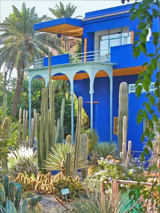 Jardin Majorelle, Marrakech, Morocco. Photo by Jean-Pierre Dalbéra