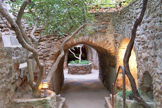 Site Entrance. Photo by Forestiere Underground Gardens
