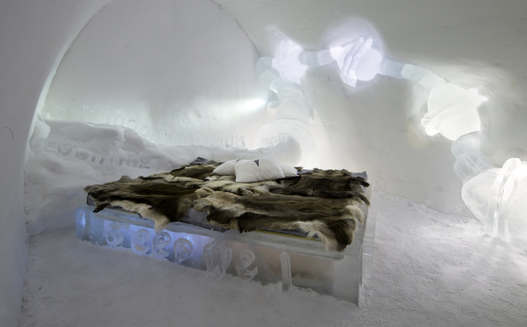 The world's most unique hotel – Sweden's IceHotel
