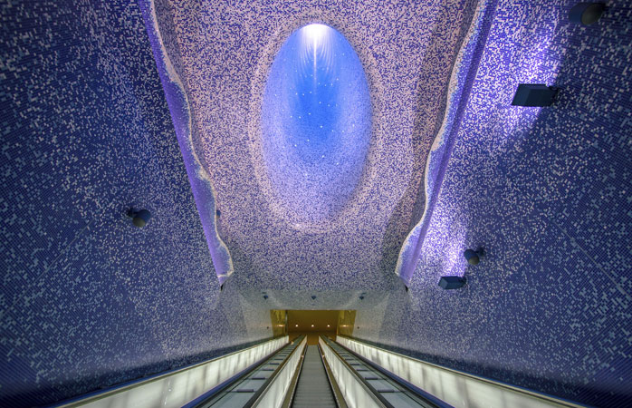 7 subway stations with amazing art 3