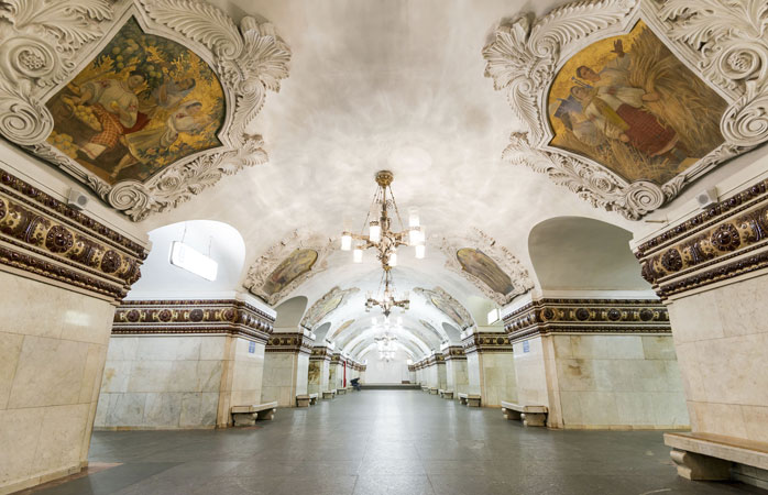 7 subway stations with amazing art 1