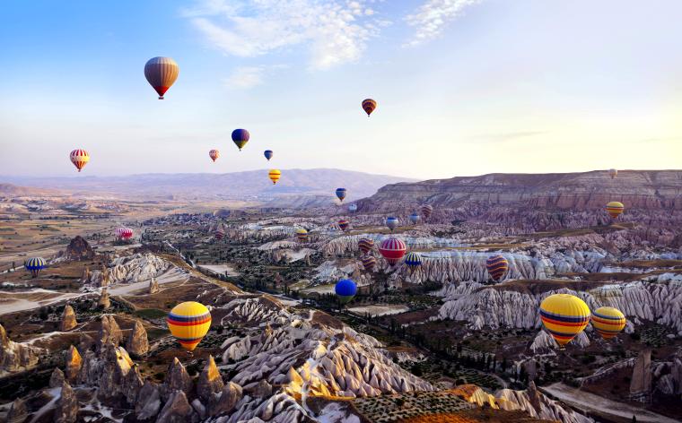 Cappadocia's cave hotels: sleep like a first-class caveman