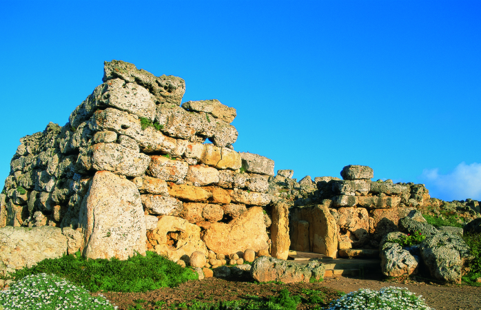 Standing on Malta's Gozo island is the Ġgantija, the oldest temple in all of Malta.