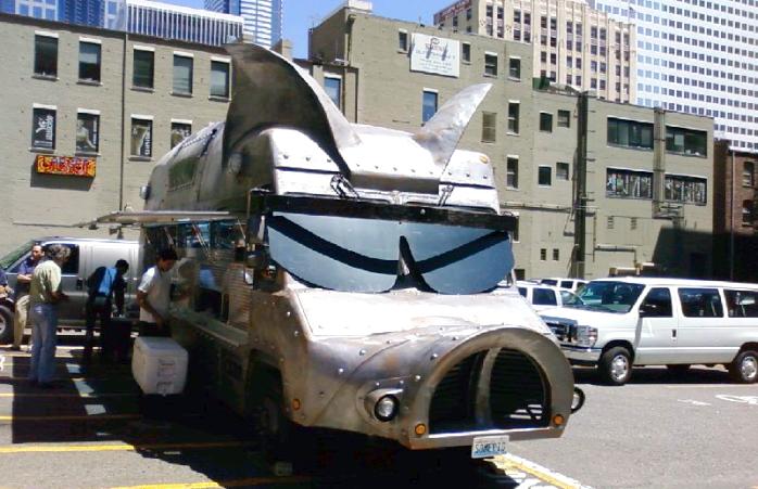 The Maximus Minimus food truck.