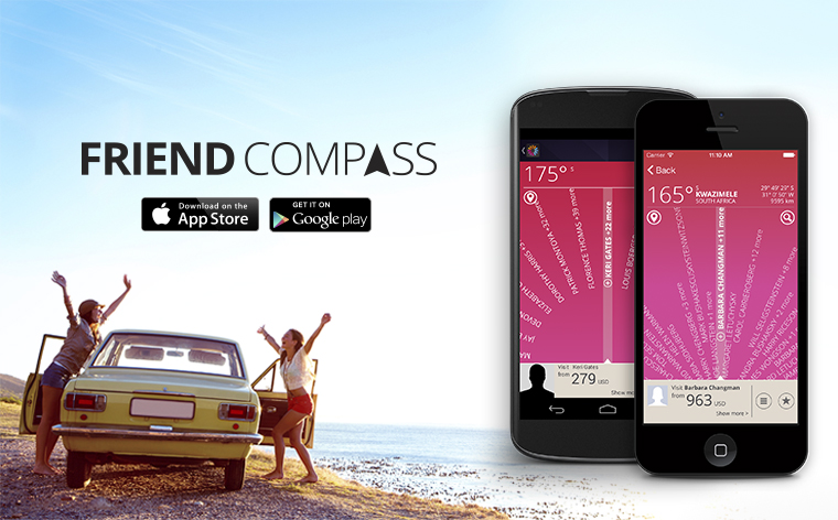 Where in the world are my Facebook Friends? Find them with momondo Friend Compass!