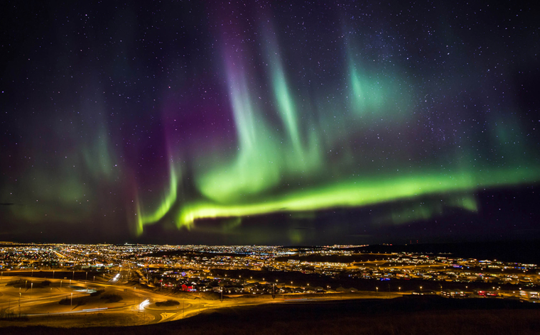 Winner – Chasing the Northern Lights competition