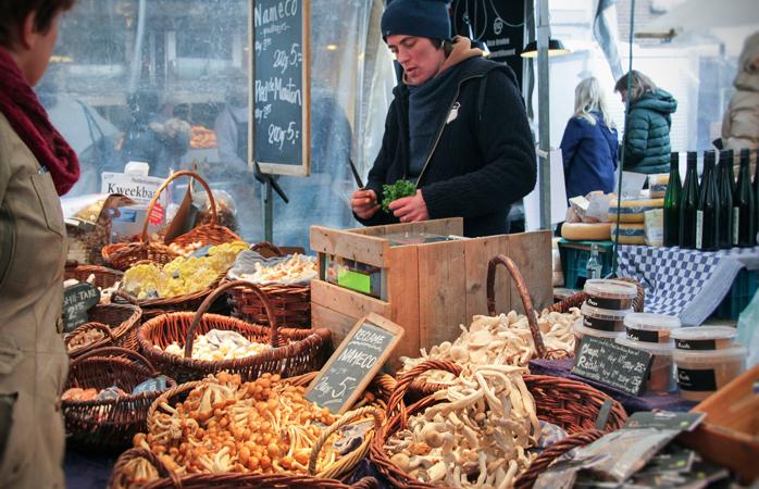 Local produce at Noordermarkt.