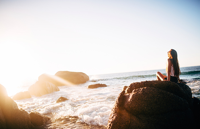 Soak up the sun and and get rid of your jet lag symptoms.