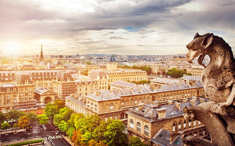 How to get from Paris airports to the city center