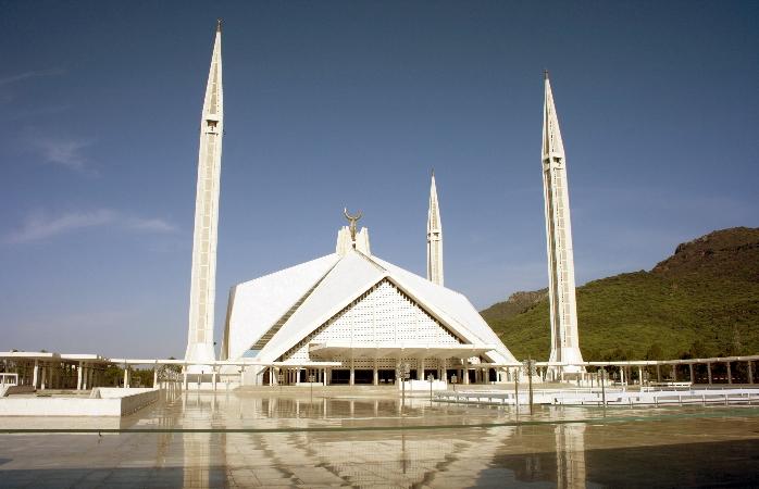 Shah Faisal Mosque, Islamabad.