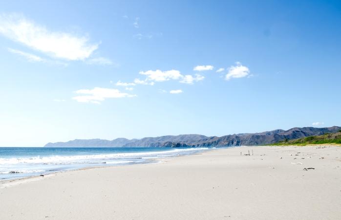 The beautiful Playa Naranjo in northwestern Costa Rica