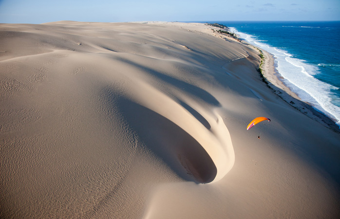 Sky-high photography on a remote island off the coast of Mozambique