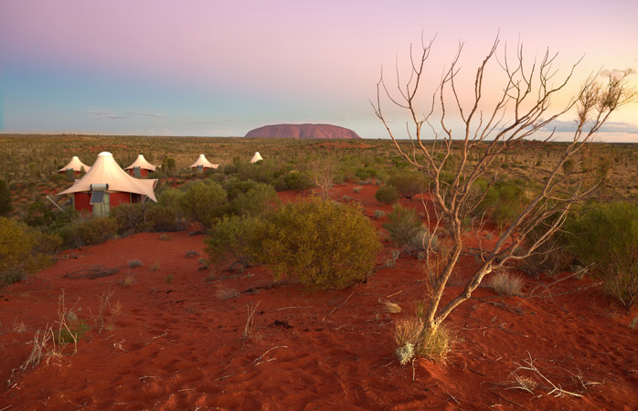 In Australia's Red Centre, it's just you and Uluru