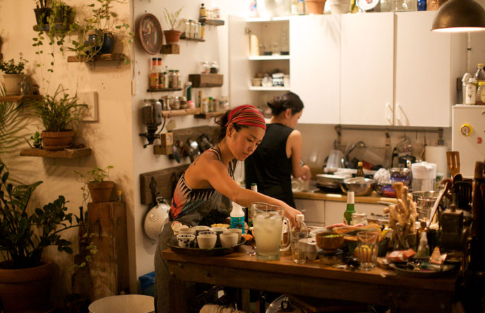 Eat with locals for home-cooked goodness