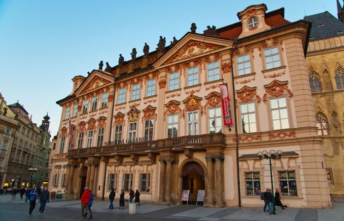 Prague's National Gallery offers free admission to all their exhibitions on specific days