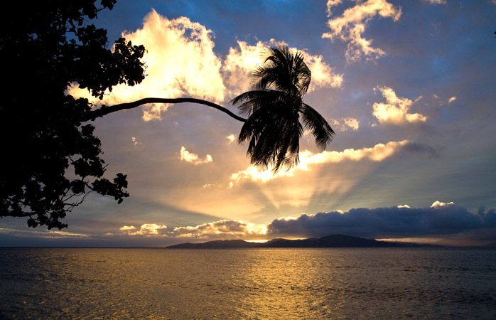 Be the first to see the sunrise in Fiji before the rest of the world