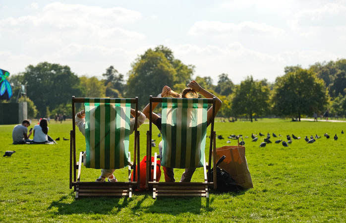 Hyde Park, one of London's most iconic retreats