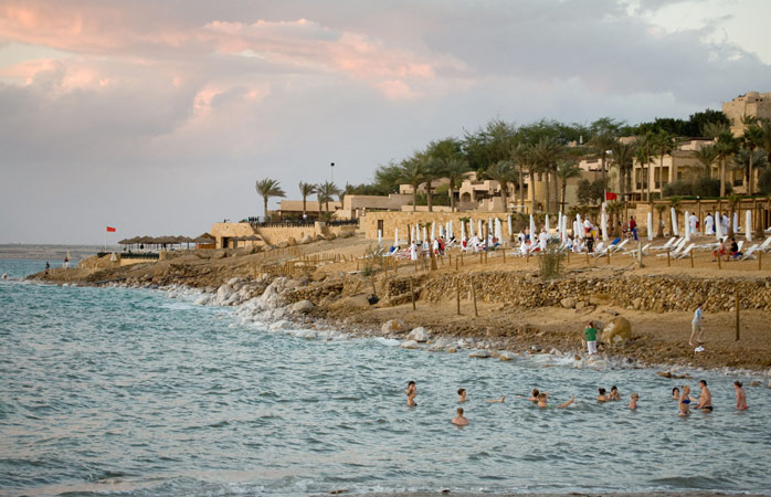 After the run, take a dip in the Dead Sea
