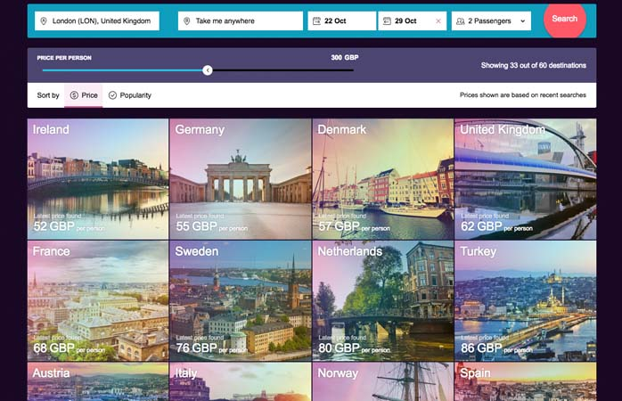 Pick a country – any country!
