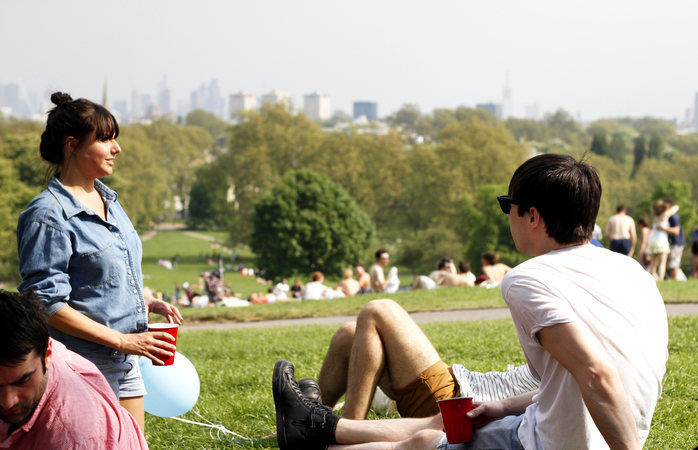 Primrose hill offers mesmeric views of London and is a wonderful spot for a picnic
