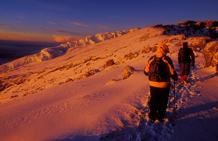 Wake up with Africa's highest sunrise view on Mount Kilimanjaro