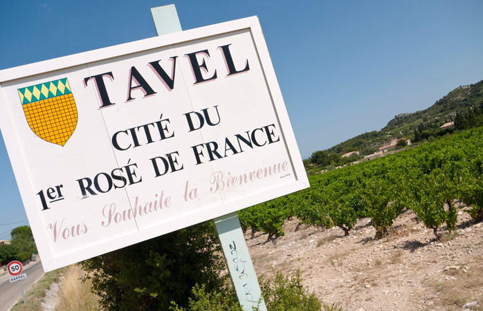 Visit Tavel and try the rosé fit for a king