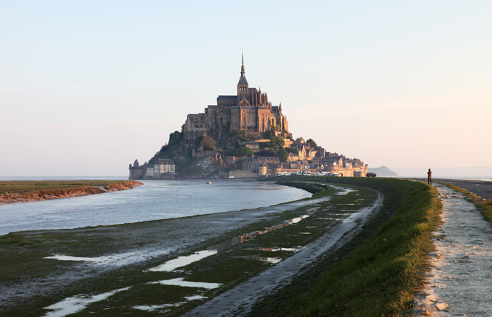 All roads lead to Mont-Saint-Michel if you don't get caught at high tide
