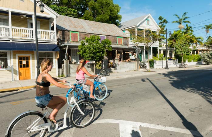 Want to recreate that happy feeling as you cycled through Key West? On yer bike!