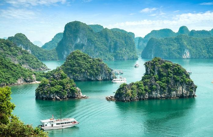 Otherworldly beauty in Vietnam's Ha Long Bay