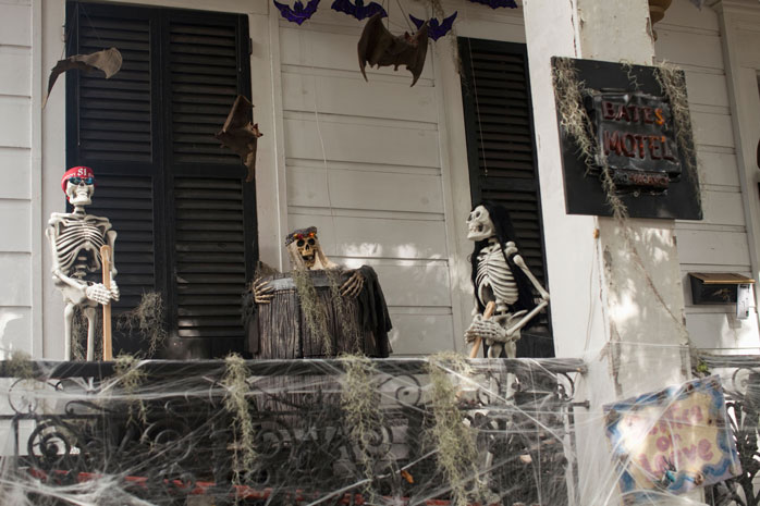 A haunted house on Magazine Street in New Orleans