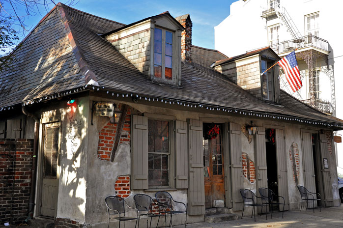 Don't believe in ghost? Lafitte's Blacksmith Shop might change your mind