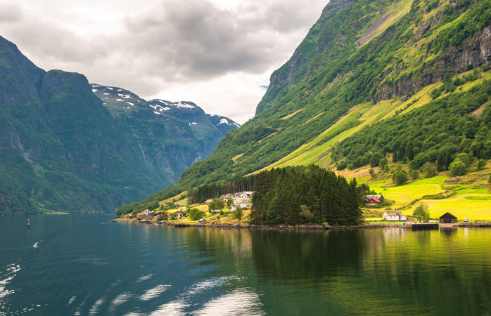 When visiting Nærøyfjord words like unreal and magical pop to mind