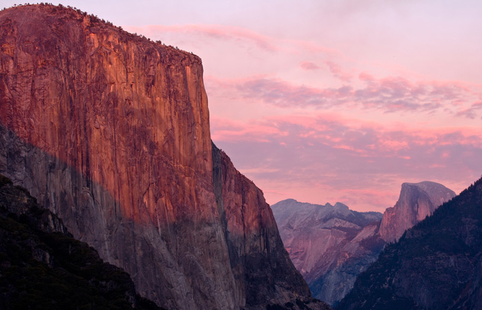 One of Yosemite's giants: the monumental El Capitan