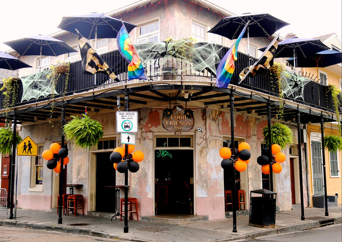 Continue the Halloween celebrations in one of New Orleans' legendary bars