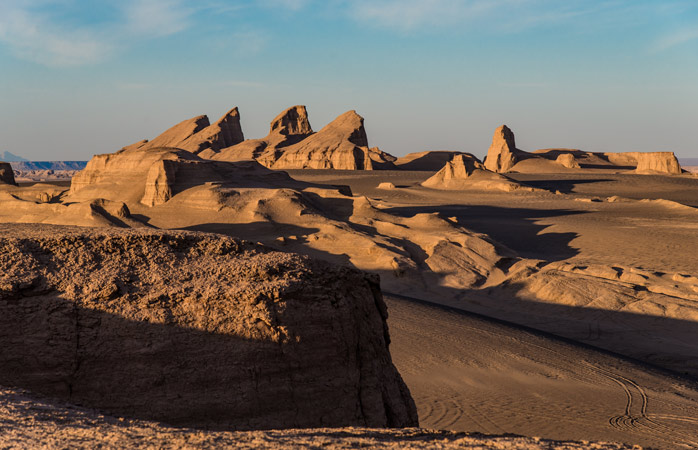 Lut Desert is high up on the list over the hottest places on Earth