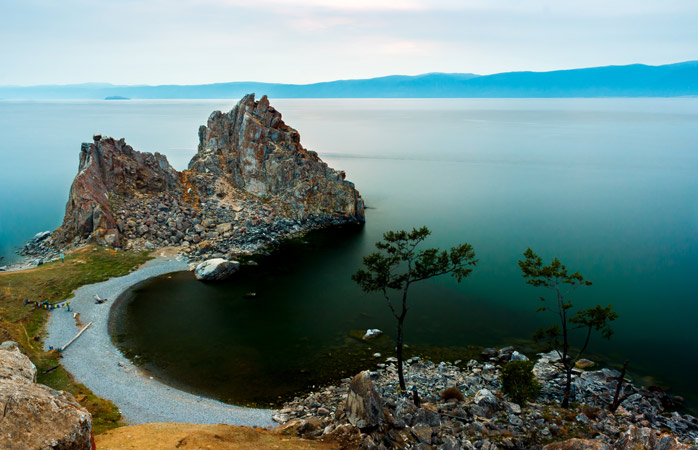 An image to behold: Lake Baikal is the largest body of freshwater in the world