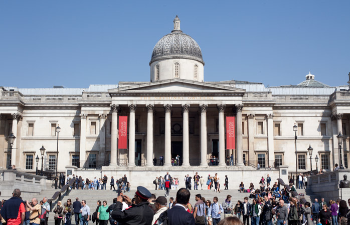 Of all the art galleries in London, The National Gallery is probably the most overwhelming