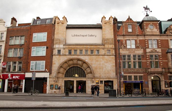 Whitechapel Gallery brings art to the people