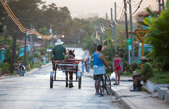 A day like any other in Viñales, Cuba