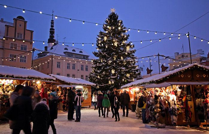 Charming and friendly: Tallinn's Christmas Market