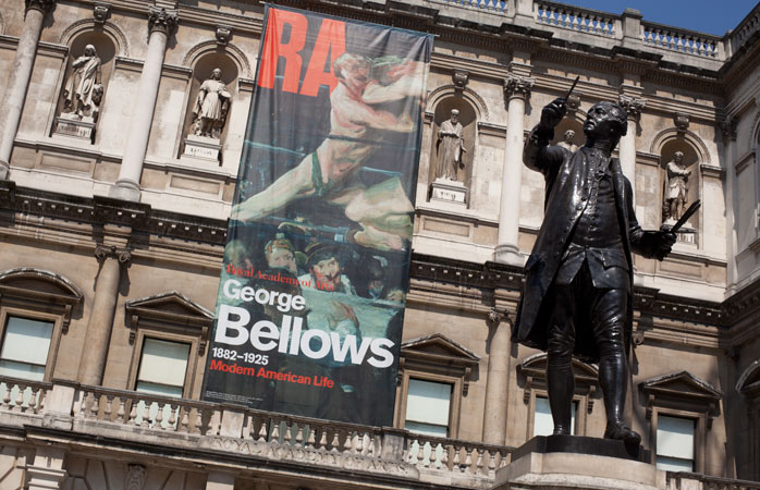 View the world's largest open collection of contemporary art curated from open submissions at the Royal Academy of Arts
