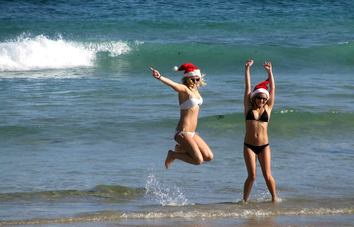 Surf's up, Sisters of Christmas