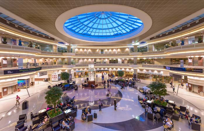 Lots to see and do inside Atlanta Airport, the world's busiest airport by passenger traffic